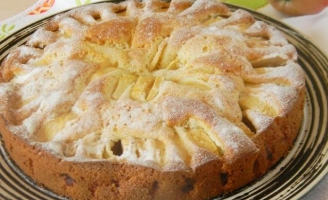 Корнуельский яблучний пиріг