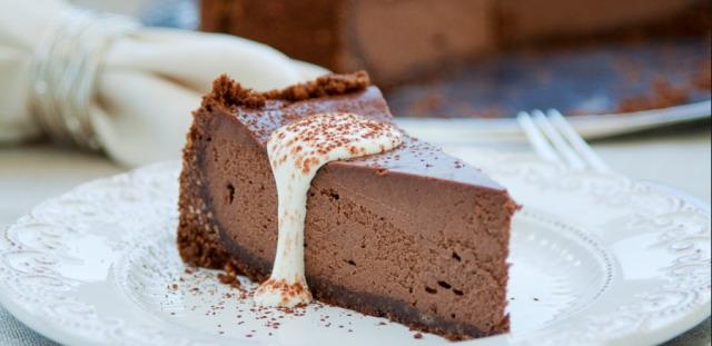 Неймовірно шоколадний сирник