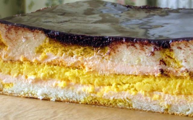 Пляцок Плямка з сирним коржем