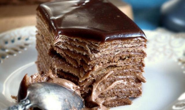 Шоколадний Наполеон