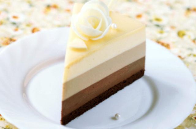 Класичний рецепт торту «Три шоколади»