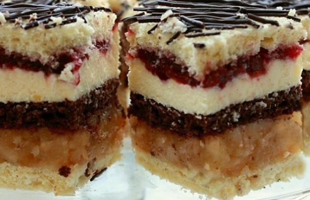 Торт Яблучна деліція